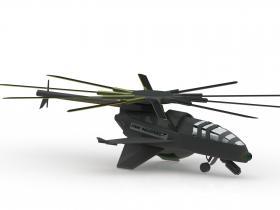 COBRA无人机Solidworks模型3D图纸.SLDPRT格式